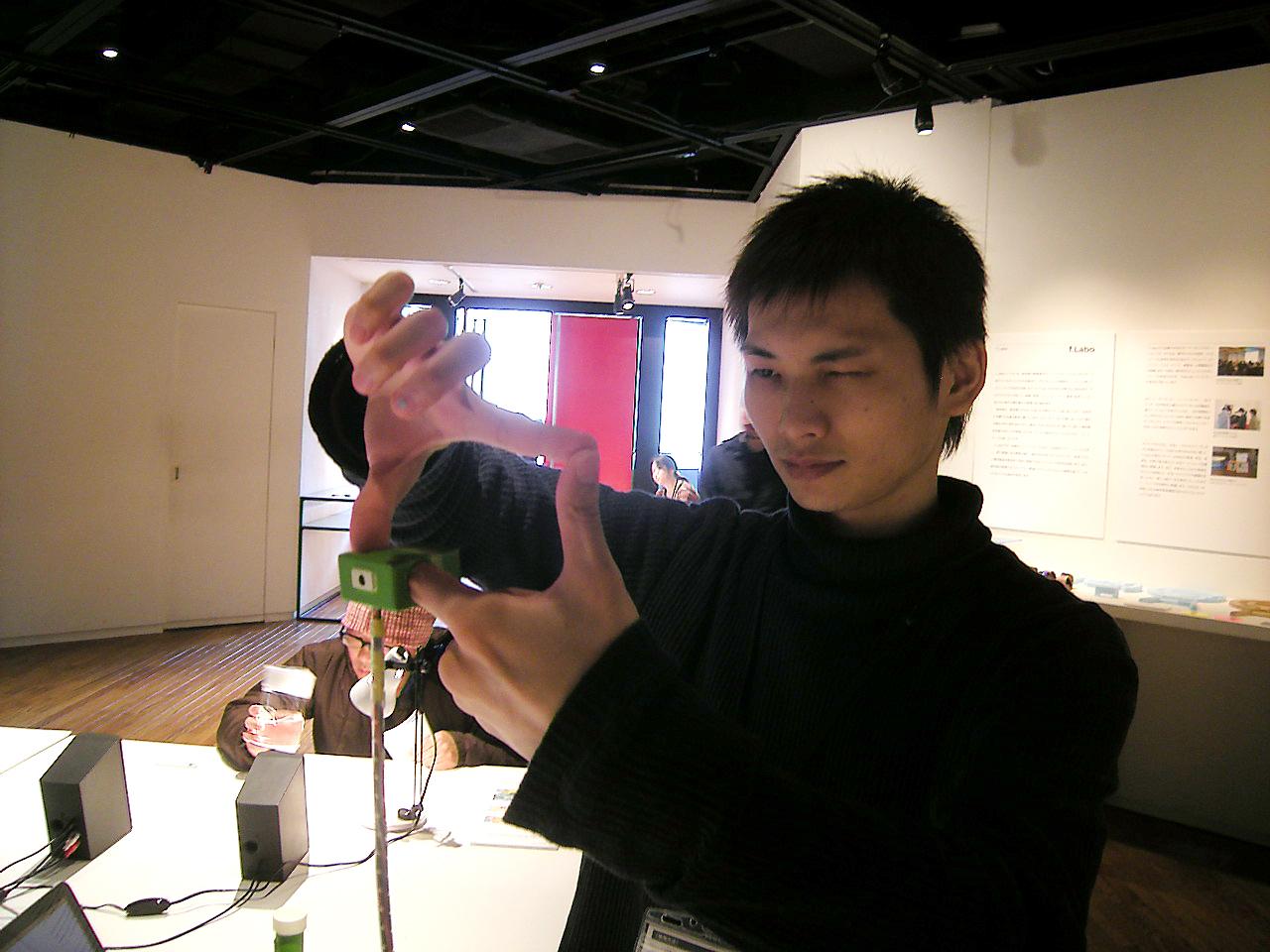 Ubi-Camera 作者:川端博理/古山善将